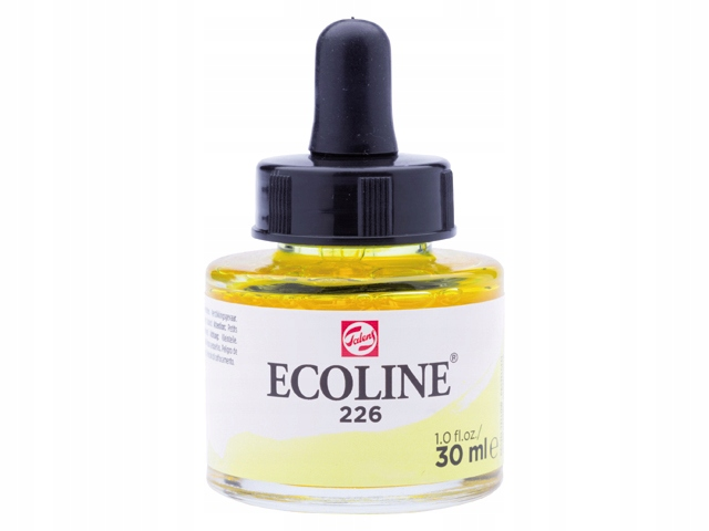 TALENS ECOLINE 30ML PASTEL YELLOW