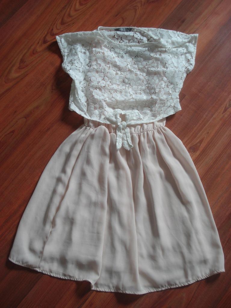 lindex sukienka pudrowaa 134