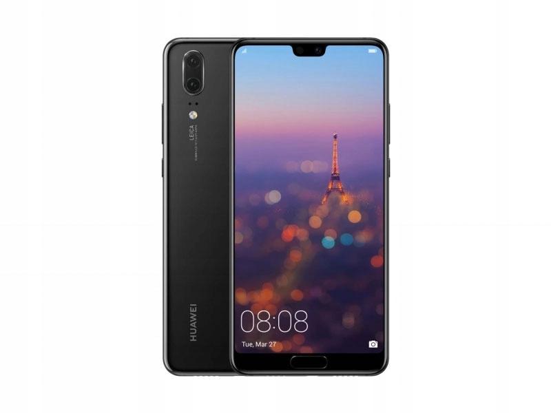 Smartfon HUAWEI P20 DualSim 64GB Czarny