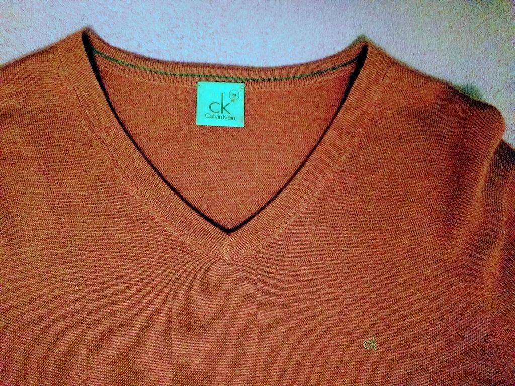 Calvin Klein sweter bordowy (wiśniowy)nieużywany M