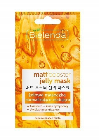 Bielenda Jelly Mask Maseczka żelowa normalizująco-