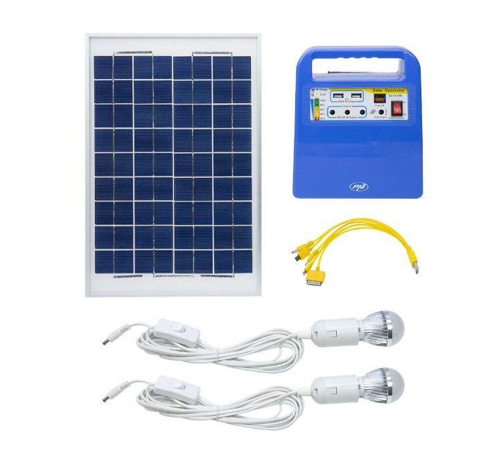 Zestaw SOLARNY z akumulatorem panel 30W na DZIAŁKĘ