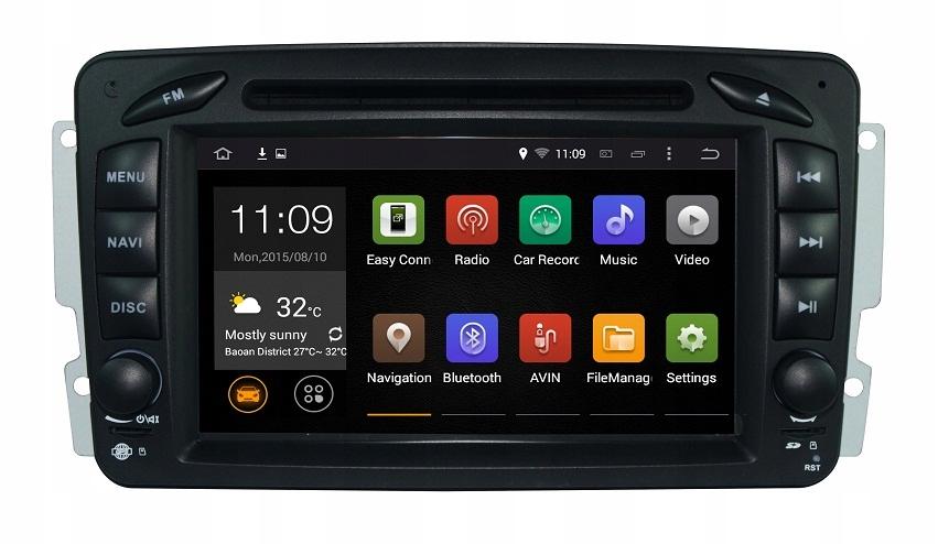 """GPS 7"""" Radio Nawigacja Mercedes CLK C208 W208"""