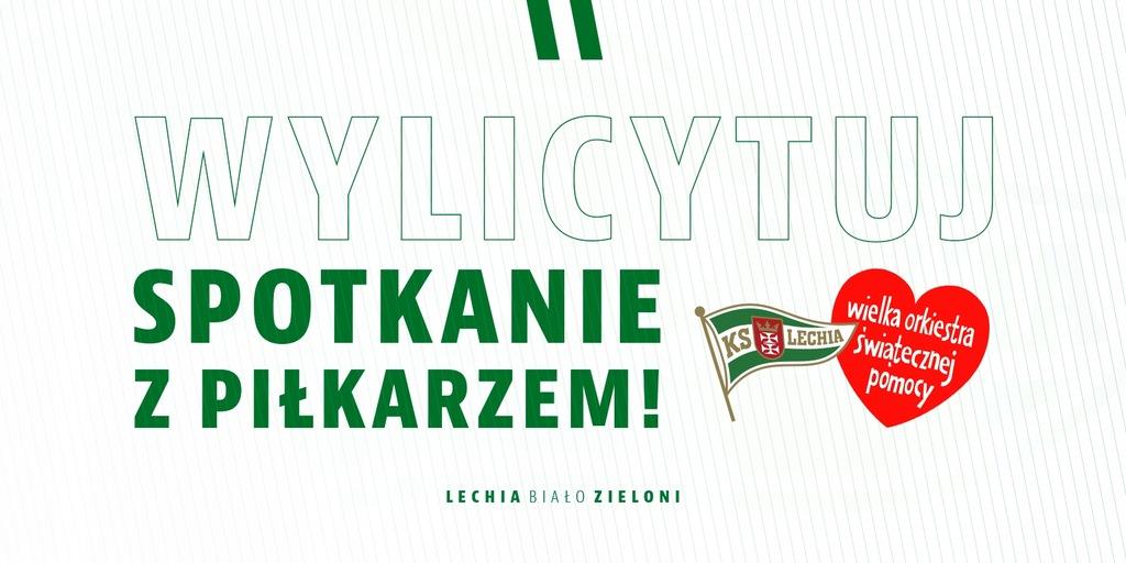 Spędź czas z wybranym zawodnikiem Biało-Zielonych!