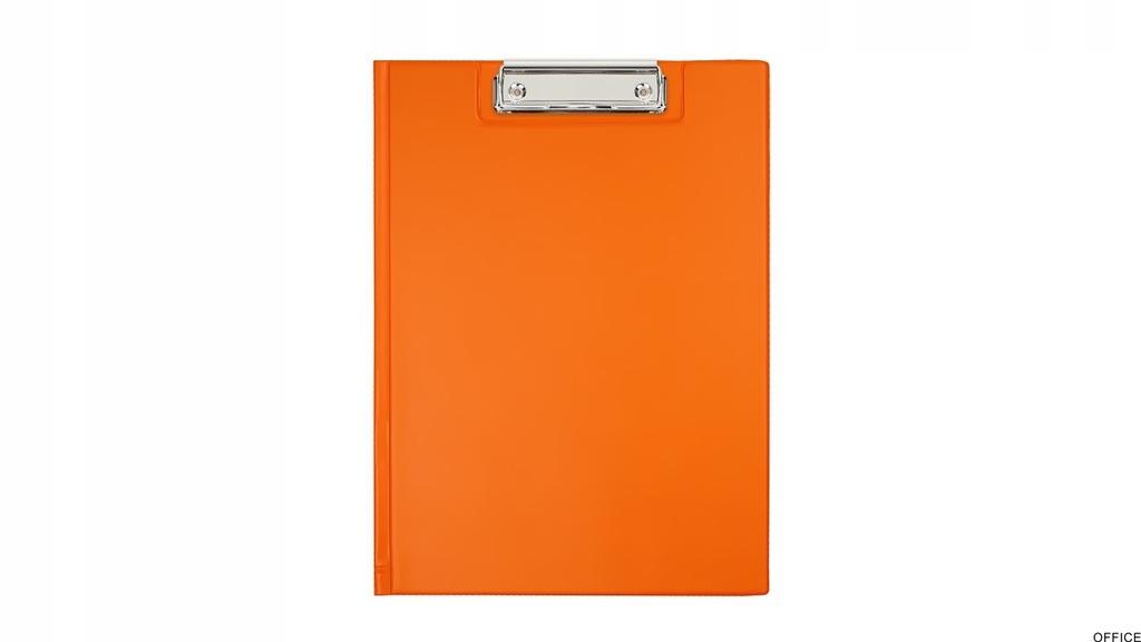 Teczka z klipsem A4 orange BIURFOL KKL-04-04 (past