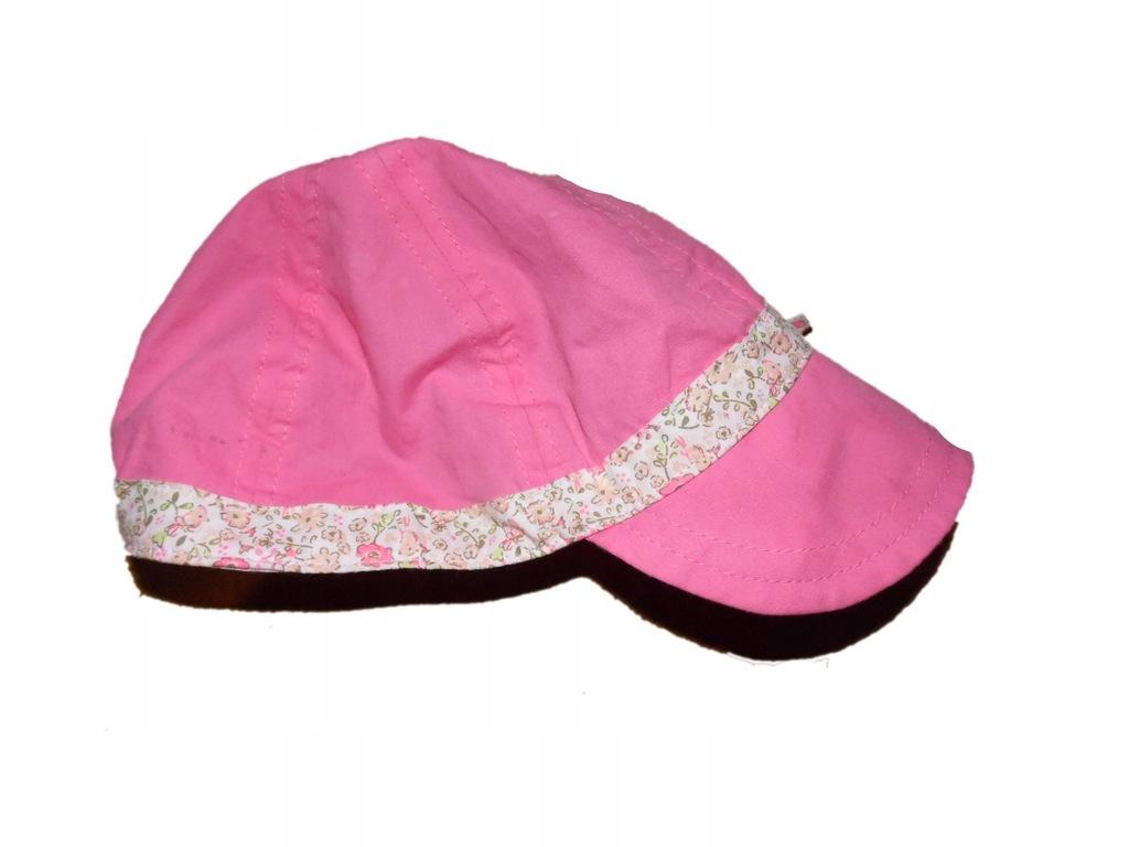 czapka na lato 6-12 mies stan bdb