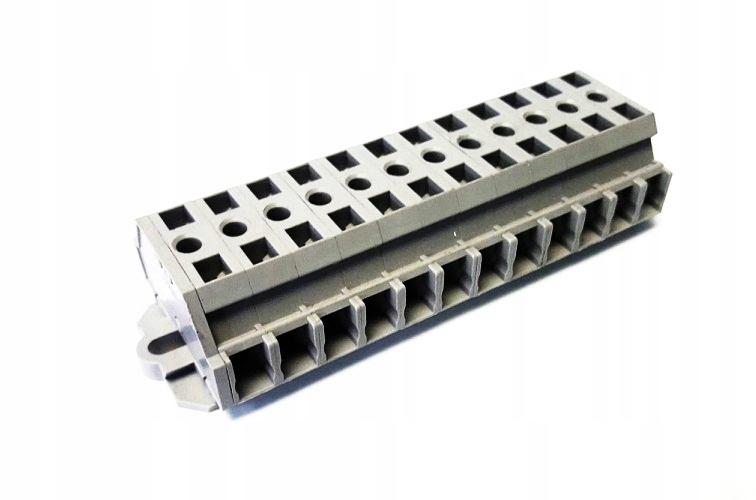 WAGO Listwa zaciskowa 2przewodowa 2,5mm2 12-torowa