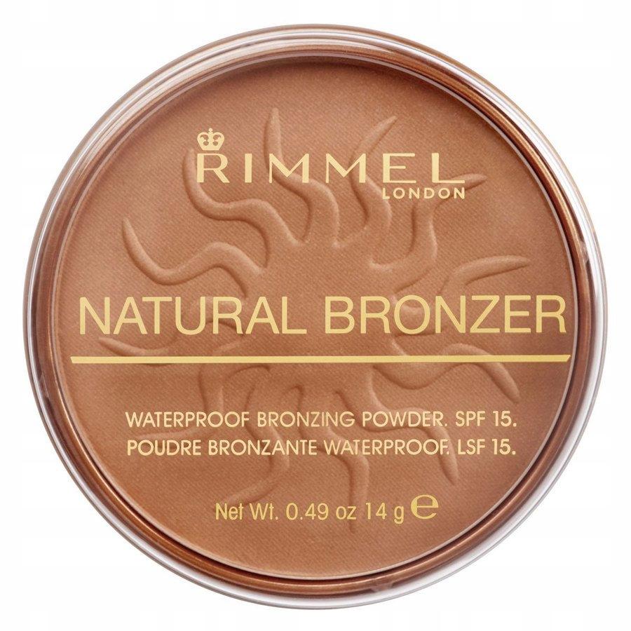 Rimmel London Natural Bronzer 022 Sun Bronze 14 g