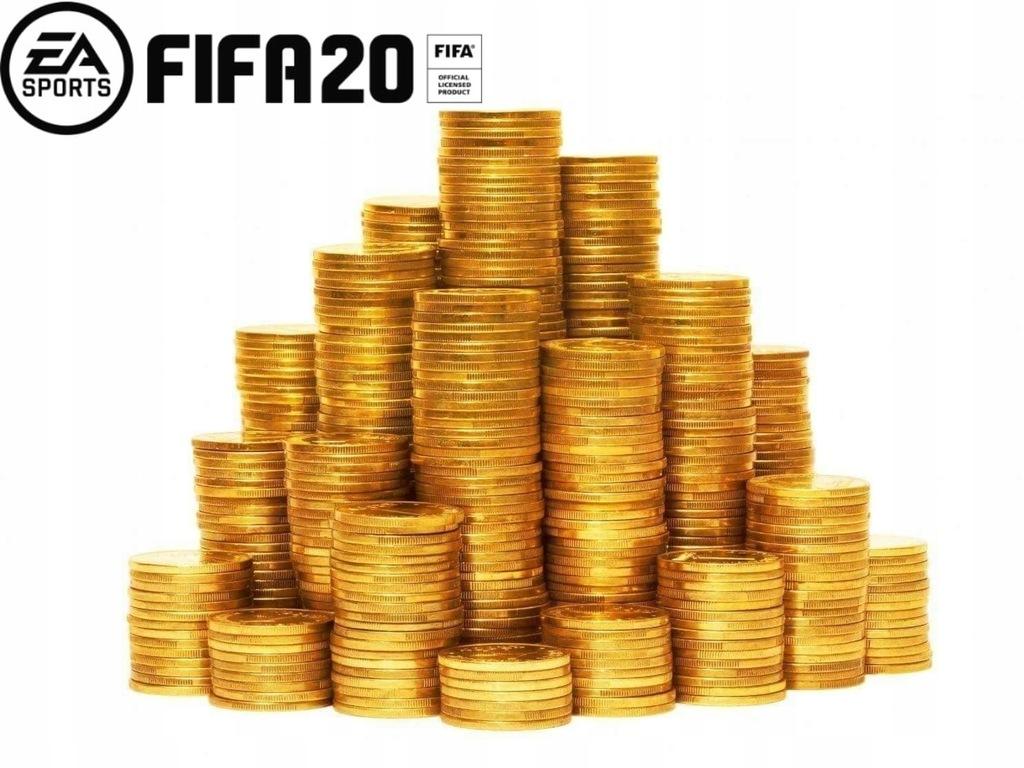 Fifa 20 100k Coins Monety Ps4 8585502844 Oficjalne Archiwum Allegro