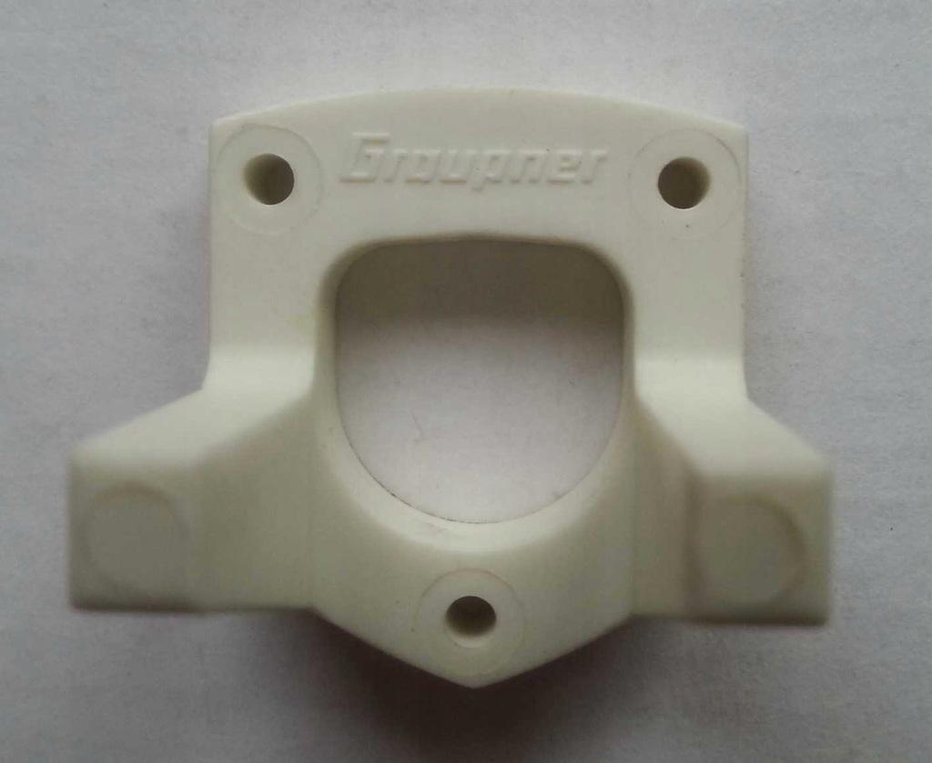 Miniaturowe łoże silnika GRAUPNER- COX 0,83 cm3