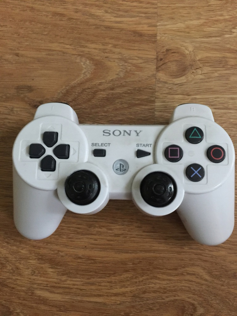 KONTROLER SONY DUALSHOCK 3 PS3 BEZPRZEWODOWY BIAŁY