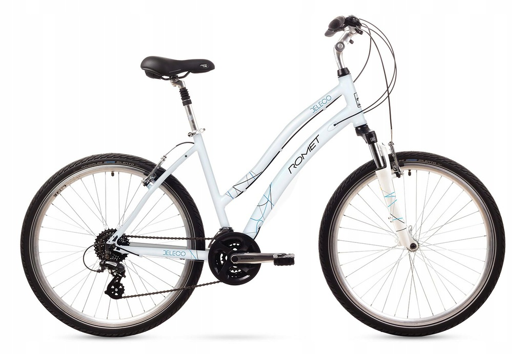 1626062 - 18 L Rower ROMET BELECO biały