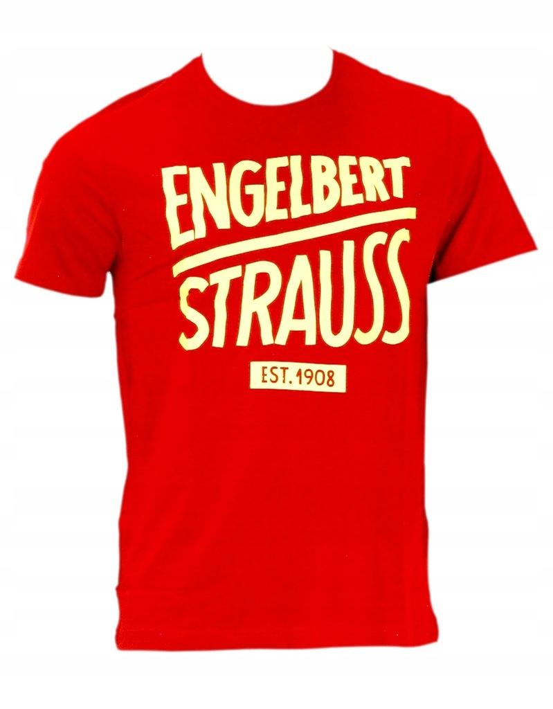 Koszulka ENGELBERT STRAUSS czerwona r.XL