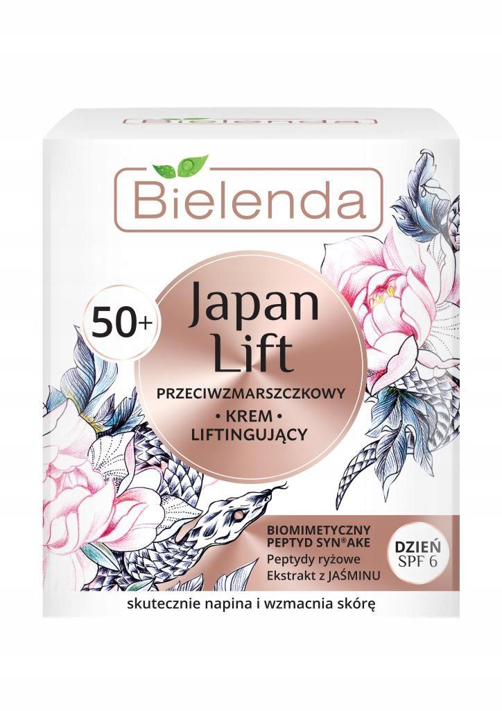 BIELENDA Japan Lift 50+ krem liftingujący na dzień