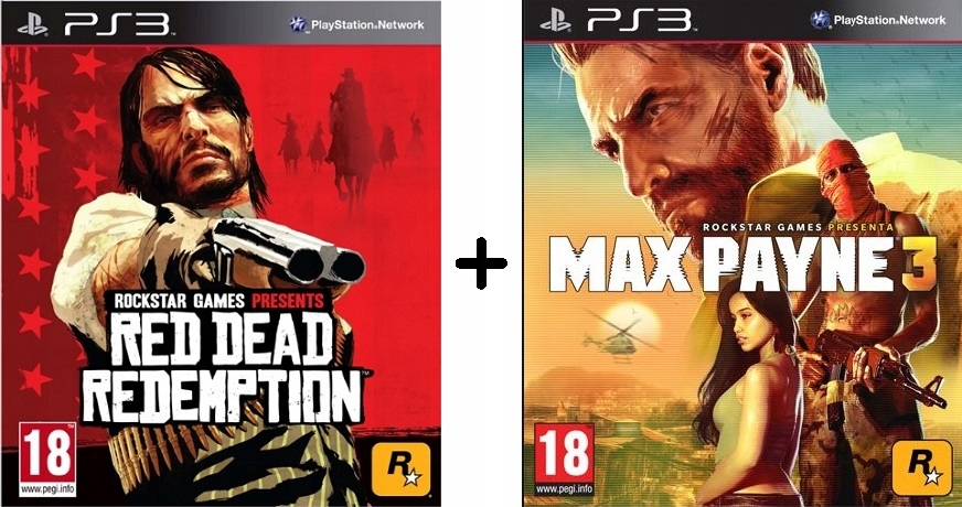 Red Dead Redemption Max Payne 3 Ps3 Playstation3 9226299492 Oficjalne Archiwum Allegro