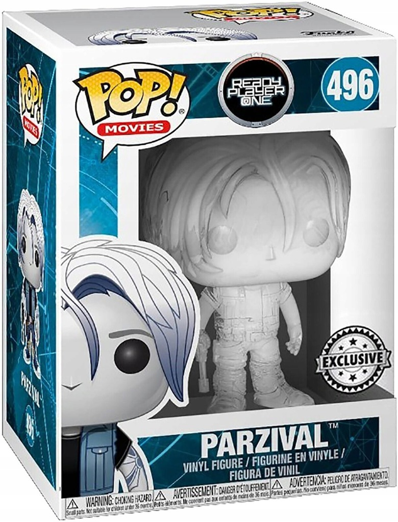 Funko Pop Ready Player One - Parzival (Translucent