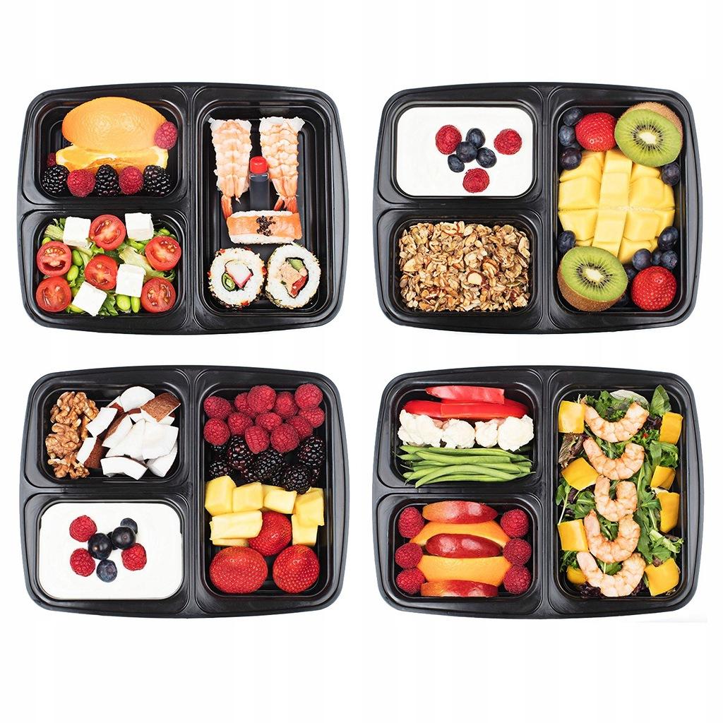 Zestaw 10 Pojemnikow Na Zywnosc Meal Prep Lunchbox 7687377650