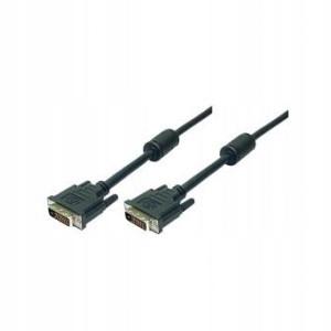 Logilink DVI-D (24+1) - DVI-D (24+1), dual li