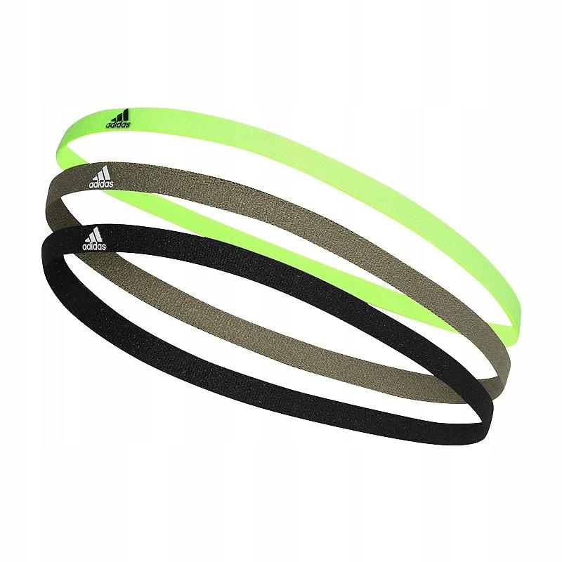 adidas 3 Pack Hairbands Opaski na włosy 215