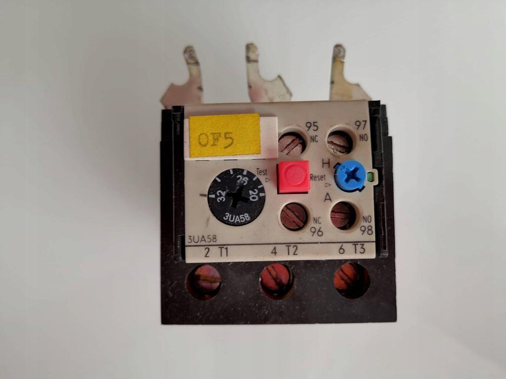 Przekaźnik termiczny Siemens 3UA58