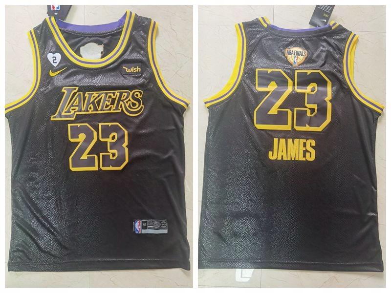Koszulka Nike 2020 Finals Lakers 23 # Snake Print