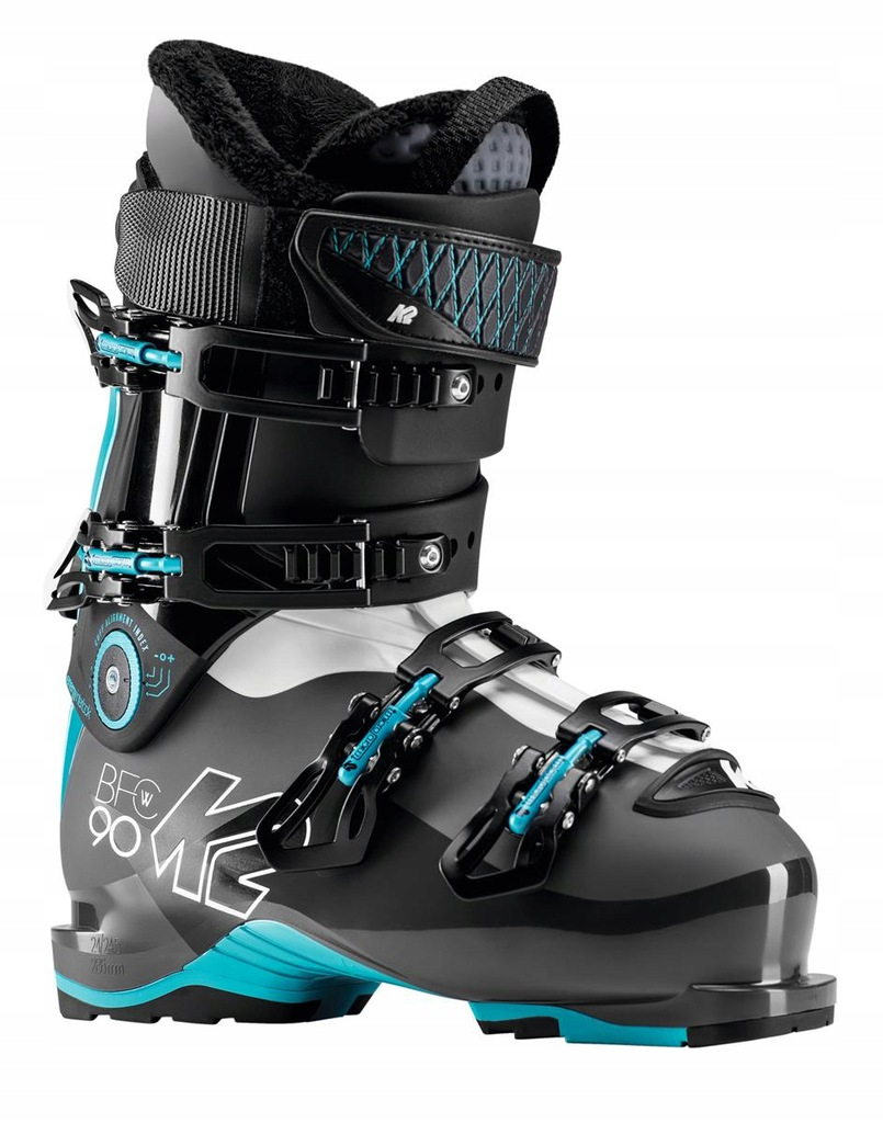 Buty narciarskie K2 B.F.C. W 90 Czarny 23/23.5 Nie