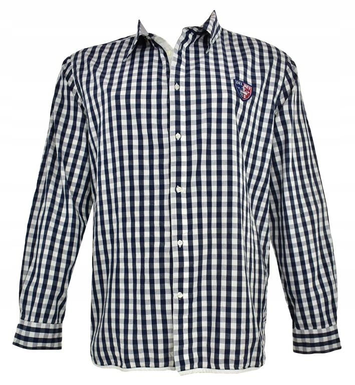 oAZ1843 BONPRIX koszula w modną kratę 3XL