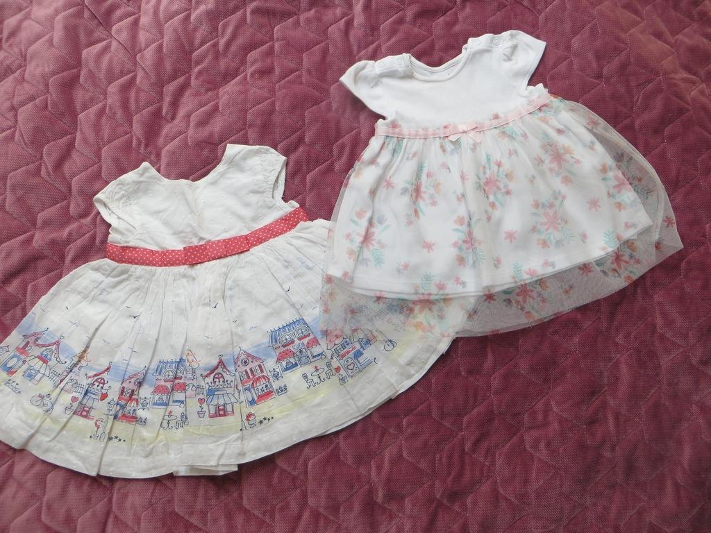 Sukienki rozmiar 0-3 miesięcy