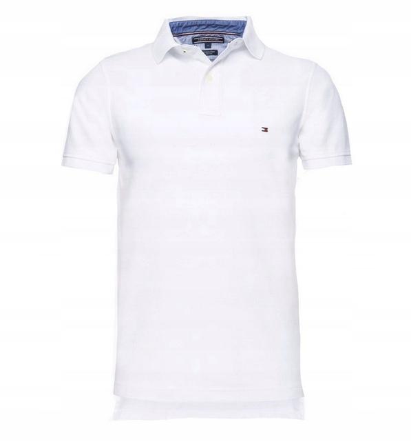 Koszulka Polo Tommy Hilfiger Biala Rozmiar M