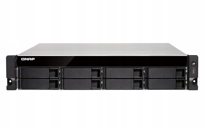 TS-863XU-RP-4G 8x0HDD 4x2.0Ghz 4xGbE 2xPSU USB