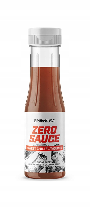 BIOTECH ZERO SAUCE 350ml sweet chili LOW KCAL DIET