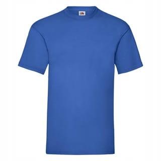 koszulka T-shirt męski krótki rękaw - NIEBIESKI; M