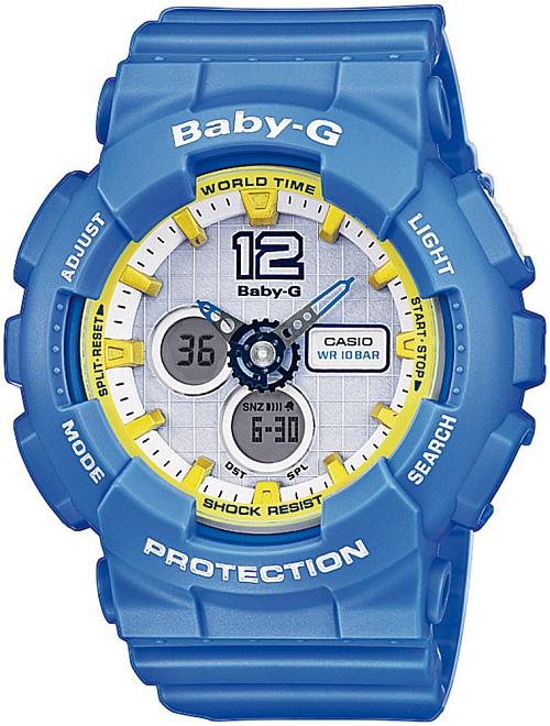 ZEGAREK DAMSKI CASIO G-Shock BABY-G BA-120-2B
