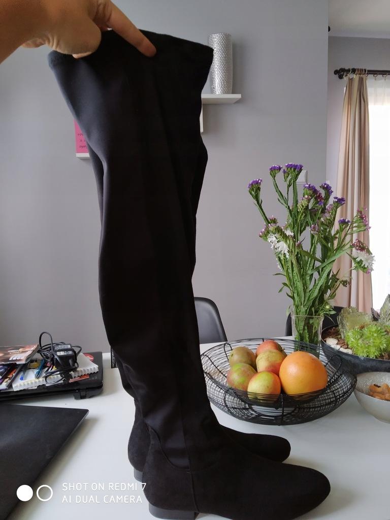 Wysokie kozaki na jesień 42,5 27,5cm