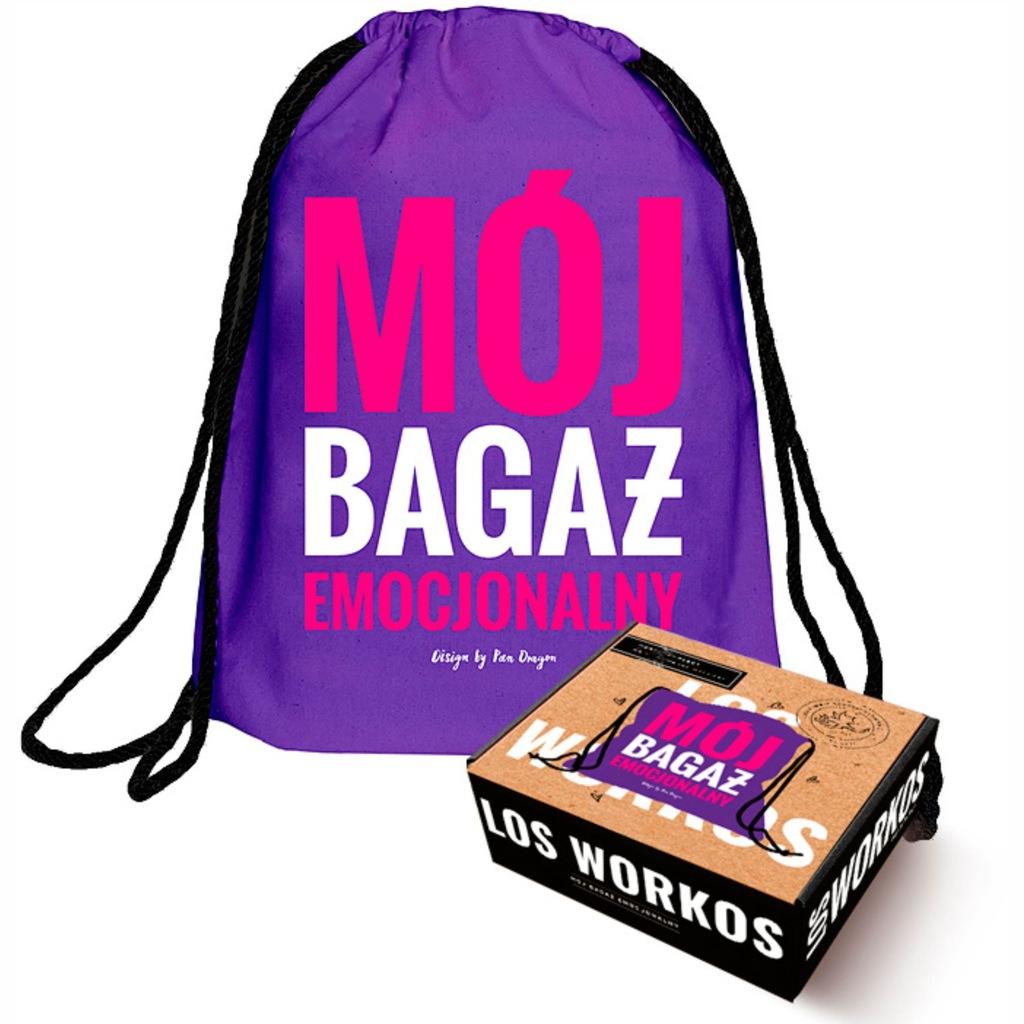Worek Plecak Na Zakupy Buty Mój Bagaż Emocjonalny
