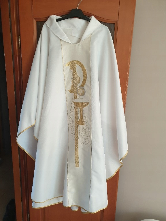 ornat liturgiczny biały