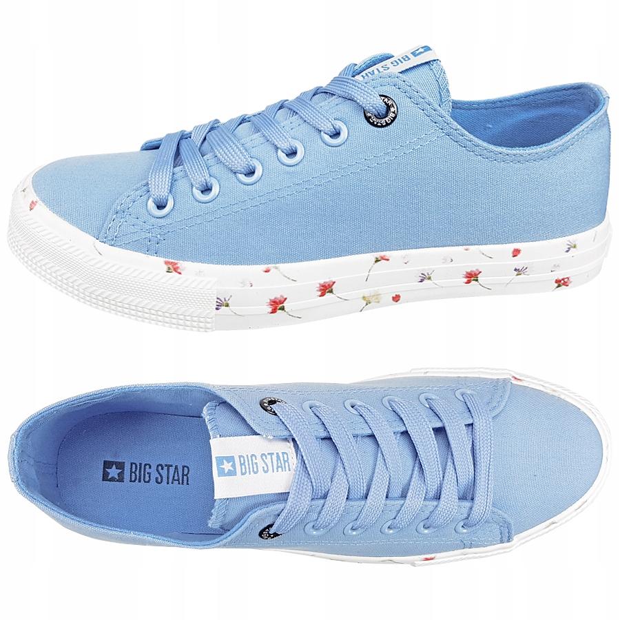 Trampki Big Star damskie niebieskie DD274710 38