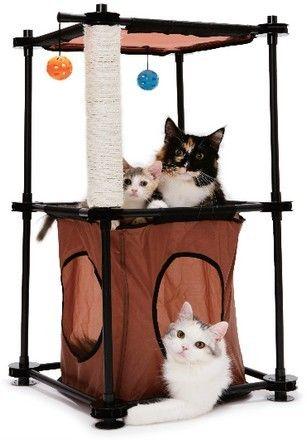Kitty City Wieza Zabawka Dla Kota 7217026819 Oficjalne Archiwum Allegro