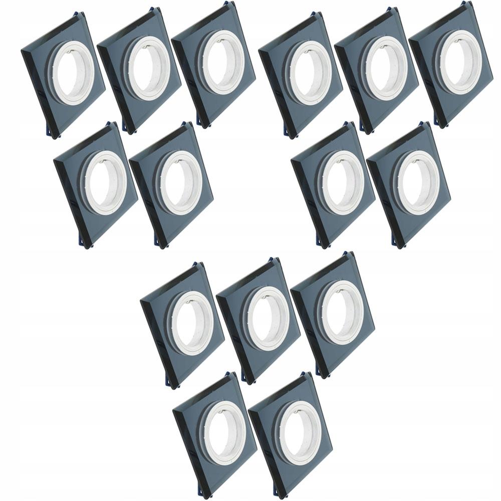 15x oczko sufitowe do żarówek LED na gwint gu10