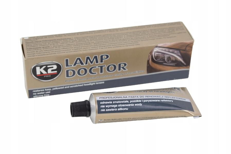 Pasta do regeneracji reflektorów lamp