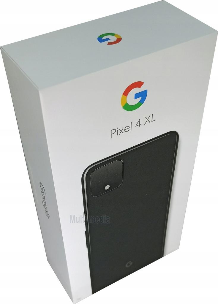 SMARTFON GOOGLE PIXEL 4 XL 6/64 6,3'' OLED FV23%
