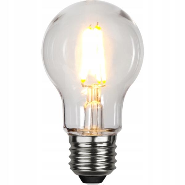 Żarówka LED do GIRLANDY A55 2,4W Filament Plastik