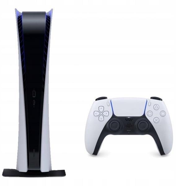Konsola Sony PS5 Digital + 2 Pady DualSense FV23%
