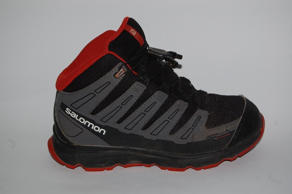 SALOMON buty trekkingowe EU 34 UK 2 wkł.21cm