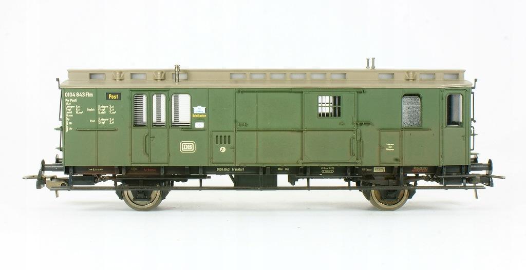 Fleischmann. Wagon bagażowo pocztowy DB III ep.
