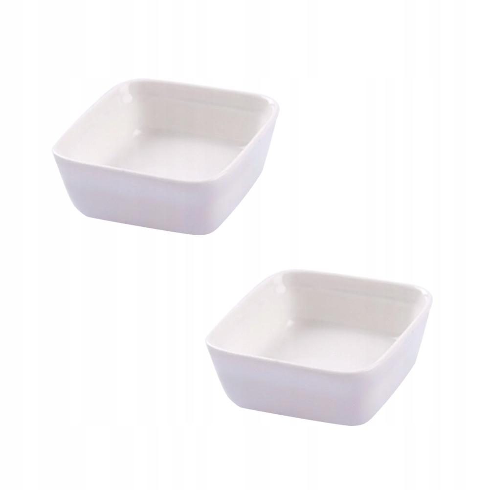 2 SZTUK Białe Naczynia Ceramiczne W Stylu Japoński
