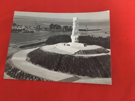 Karta Pomnik Bohaterów Westerplatte