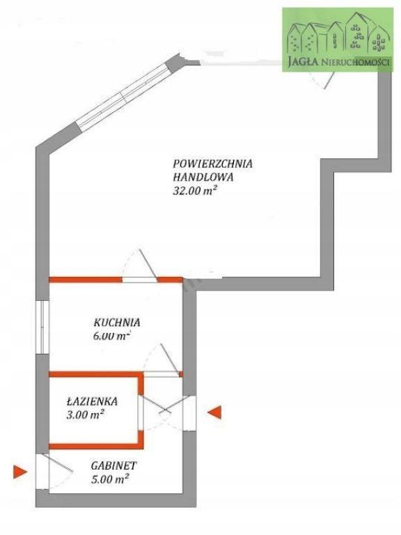 Biurowiec, Bydgoszcz, Błonie, 46 m²