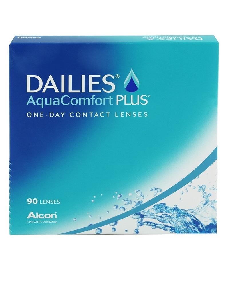 Dailies AQUA Comfort Plus 90 szt. MOC: -6.50
