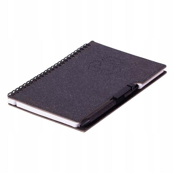 Notatnik Telde A5, czarny